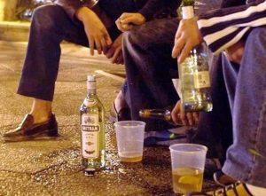 Штраф за распитие алкоголя в общественных местах